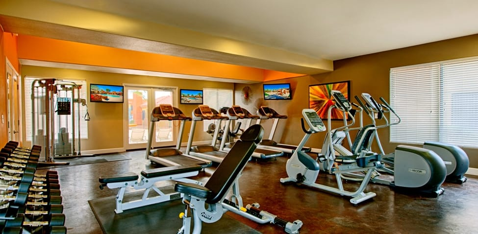 Fitness room at Sonoran