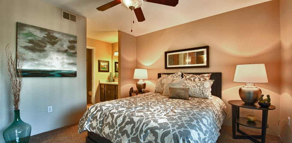 Bedroom at The Enclave