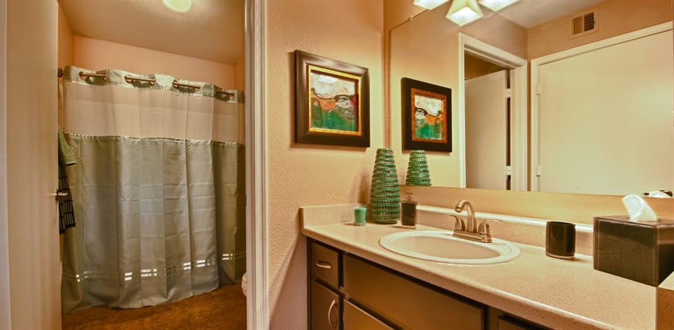 Bathroom at The Enclave
