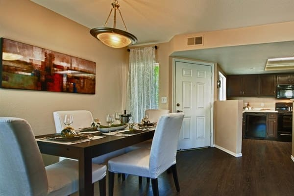 Dining room at The Enclave