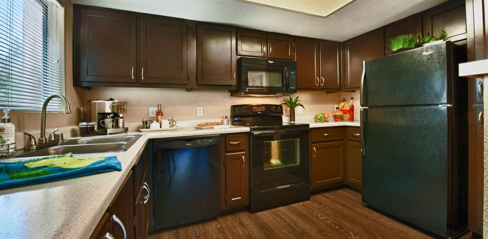 Kitchen at The Enclave