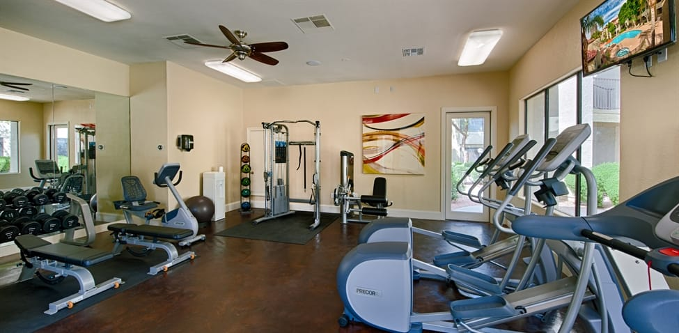 Fitness Center Amenities