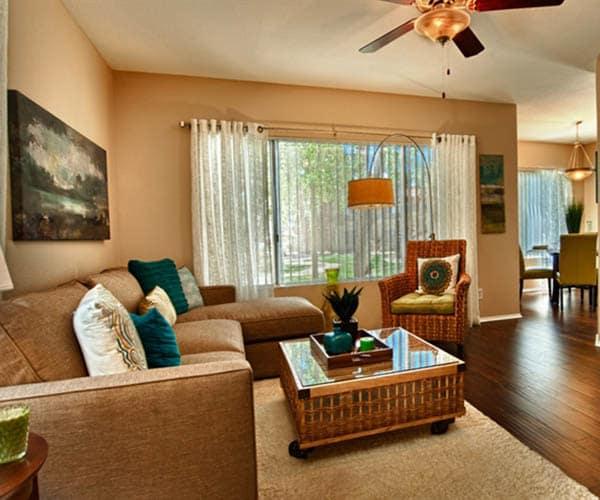 Living room at  Village at Lakewood