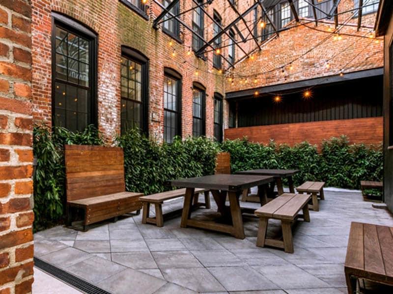 courtyard at Grand Adams