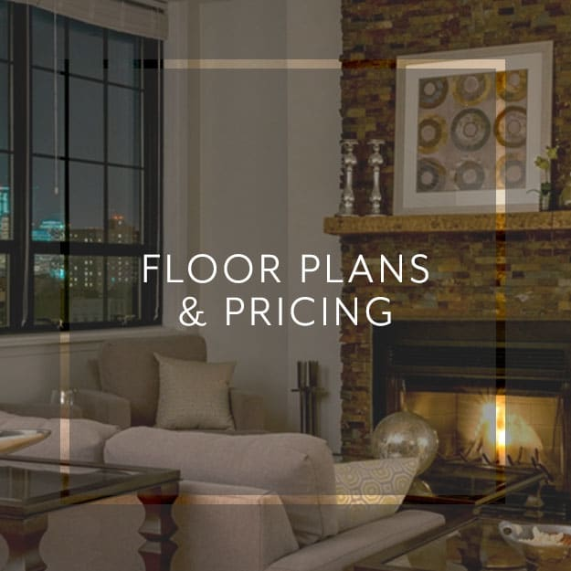 Floor plans and pricing of units at Grand Adams