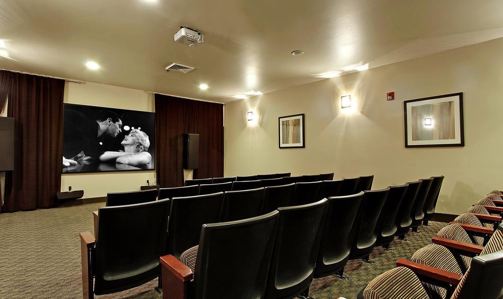 mini cinema at Avana 522 Apartments in Bothell, WA