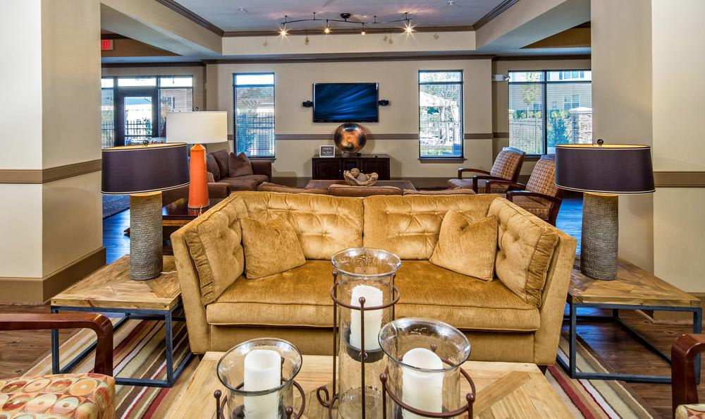 comfortable living room at Avana Highland Ridge Apartments in Columbus, GA