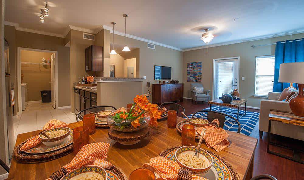 Dining Room At Avana at South Shore Apartments