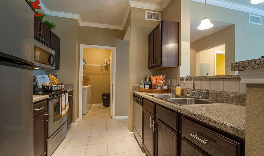 Kitchen At Avana at South Shore Apartments