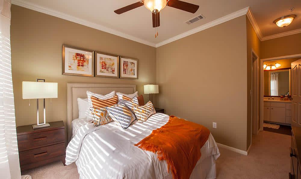 Master Bedroom At Avana at South Shore Apartments