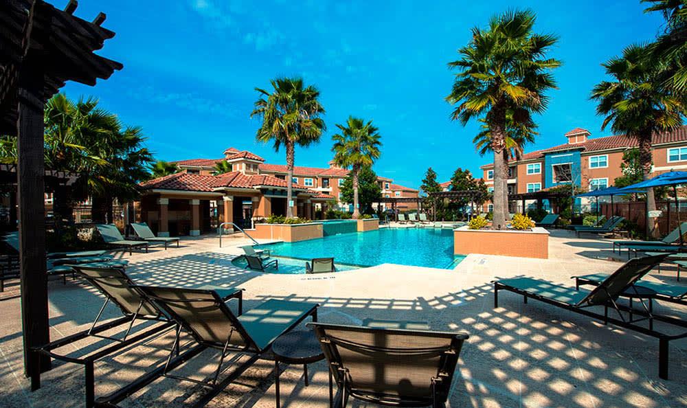 Pool At Avana at South Shore Apartments