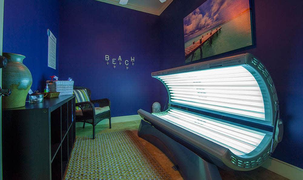Tanning Booth At Avana at South Shore Apartments