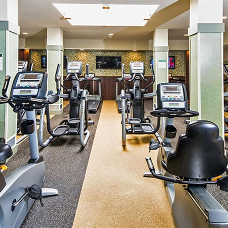 Fitness Center at Jefferson Hills Apartments