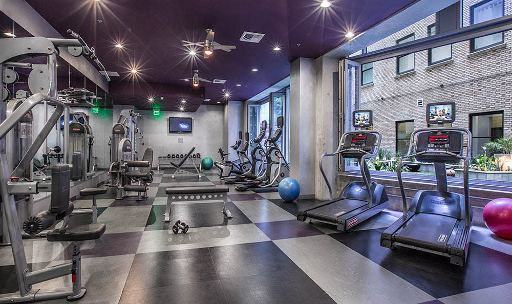 Fittness Center At The Roosevelt