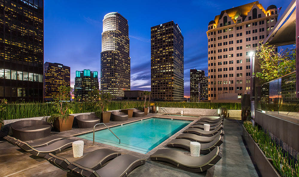 Pool At The Roosevelt