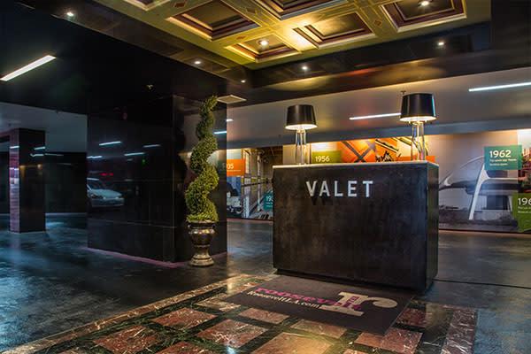 valet Parking at The Roosevelt