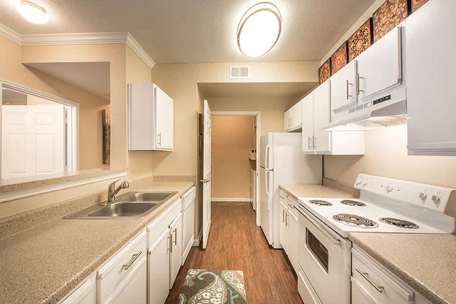 Spacious Kitchen at Avana on Second Apartments