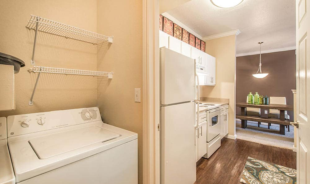 Laundry At Avana on Second Apartments