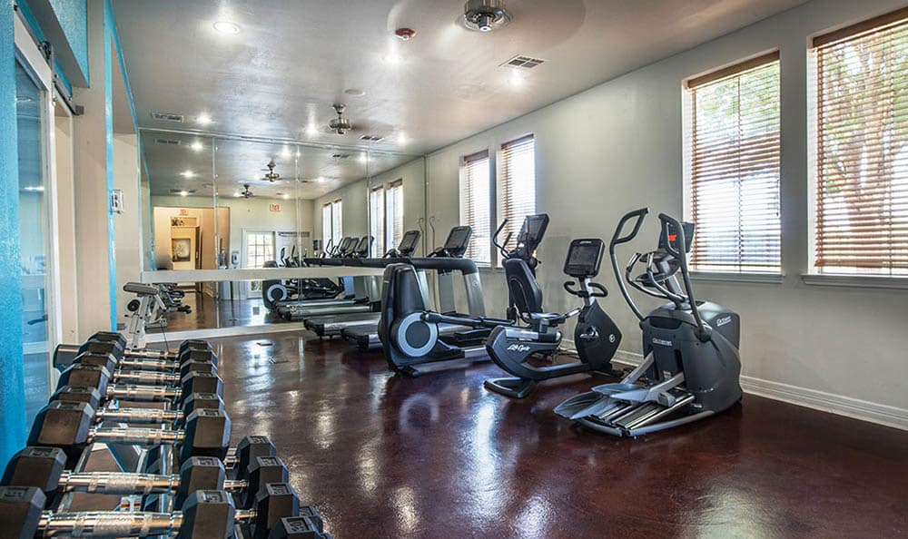Fitness Center At Avana 3131 Apartments