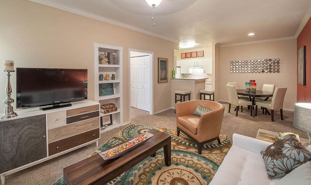 Living Room At Avana 3131 Apartments