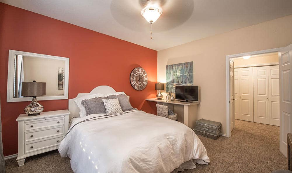 Master Bedroom At Avana 3131 Apartments
