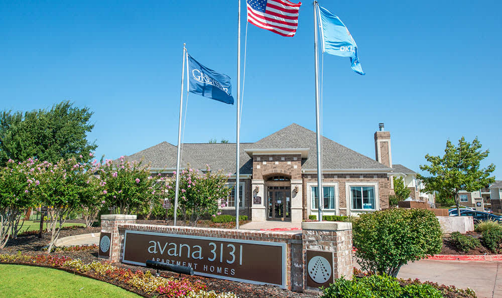 Signage At Avana 3131 Apartments
