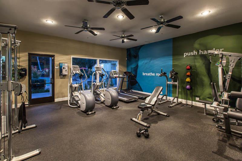 Exercise Facility at Avana La Jolla Apartments in San Diego, CA