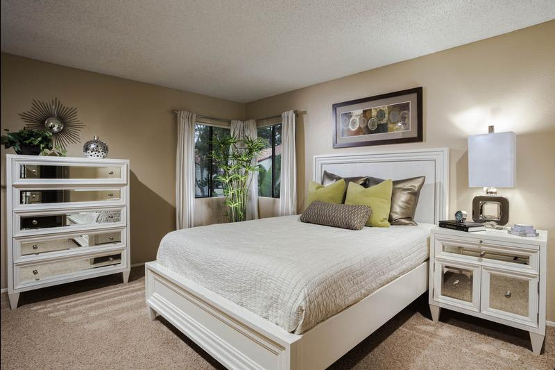 Spacious Bedroom at Avana La Jolla Apartments in San Diego, CA