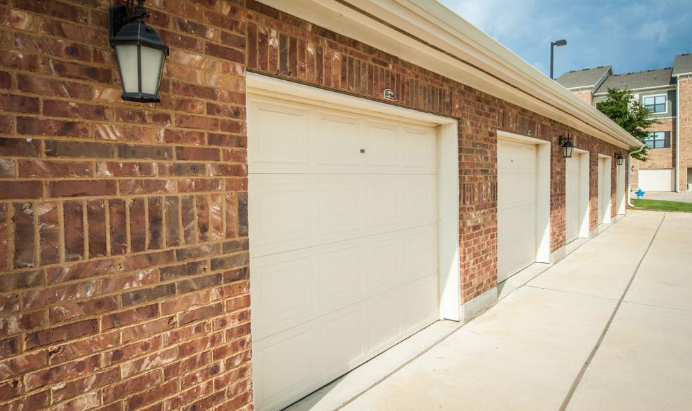 Garages at Avana McKinney Ranch Apartments in McKinney, TX