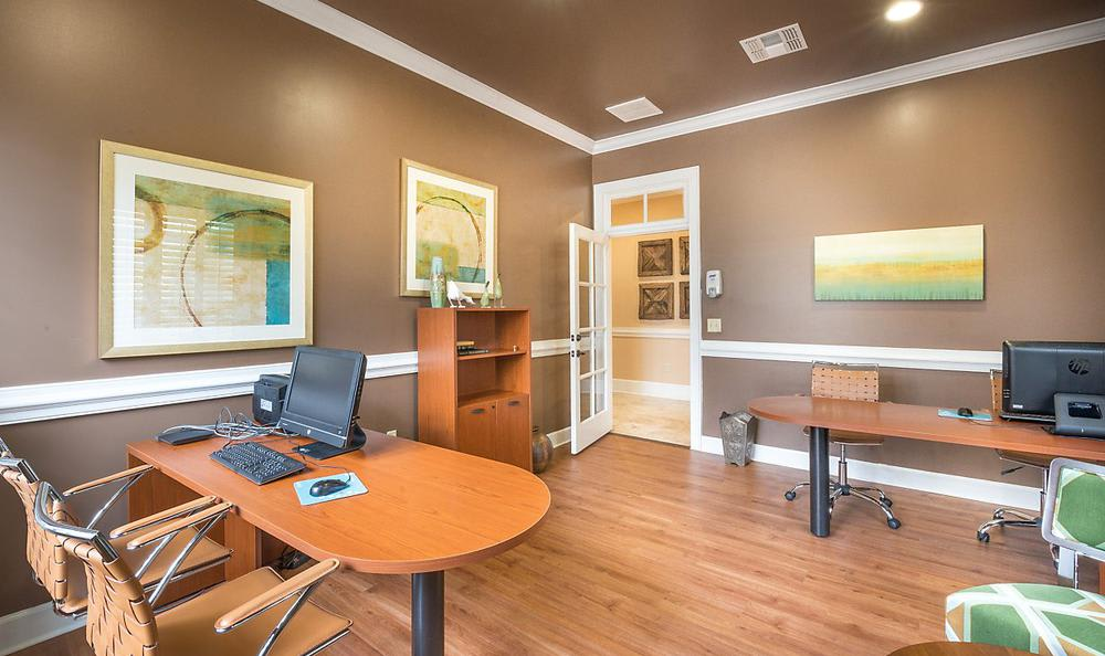 Business Center at Avana Stonebriar Apartments in The Colony, TX