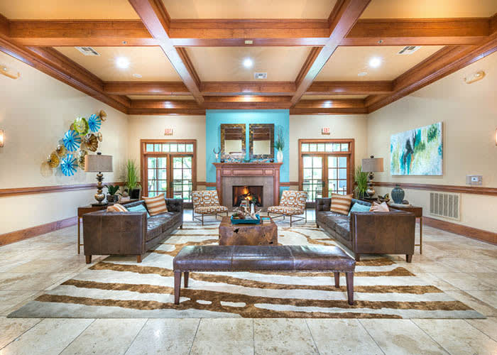 Clubhouse at Avana Stonebriar Apartments