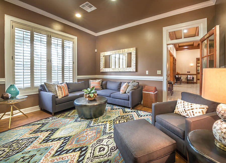 View of the clubhouse at Avana Stonebriar Apartments in The Colony, Texas