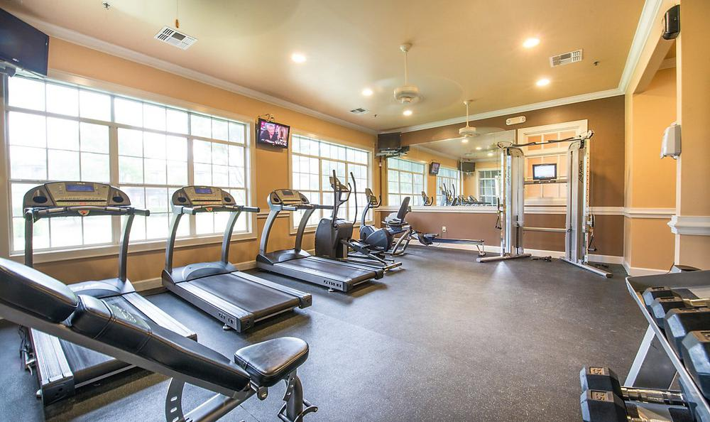 Fitness Center at Avana Stonebriar Apartments in The Colony, TX