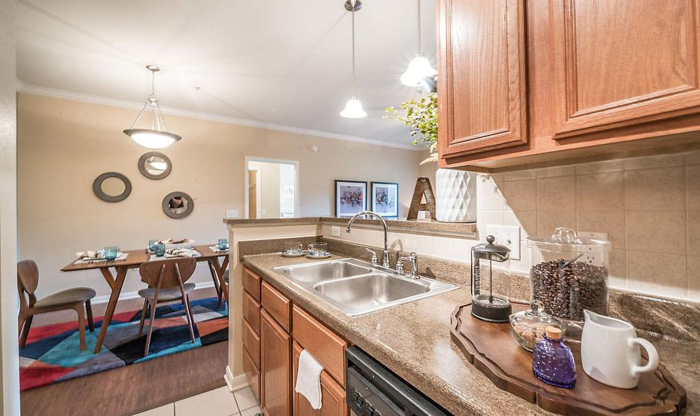 Kitchen Room at Avana Stonebriar Apartments in The Colony, TX