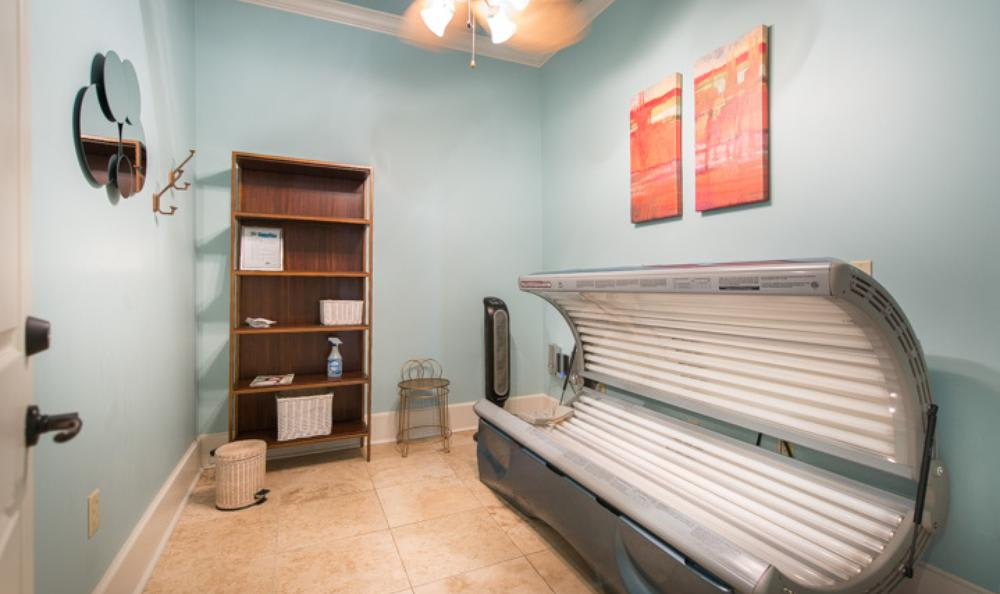 Tanning Bed at Avana Stonebriar Apartments in The Colony, TX
