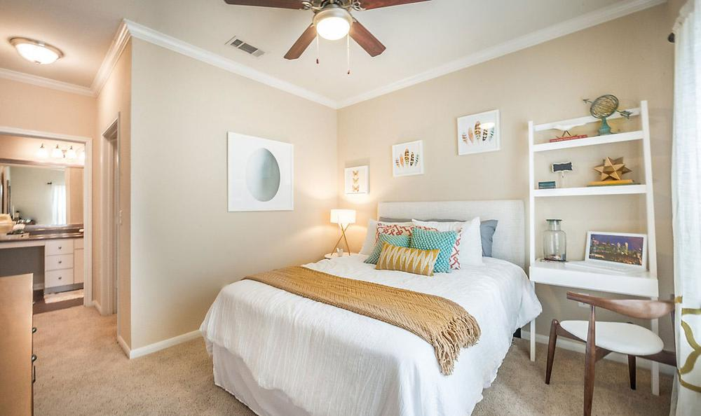 Well Decorated Bedroom at Avana Stonebriar Apartments in The Colony, TX