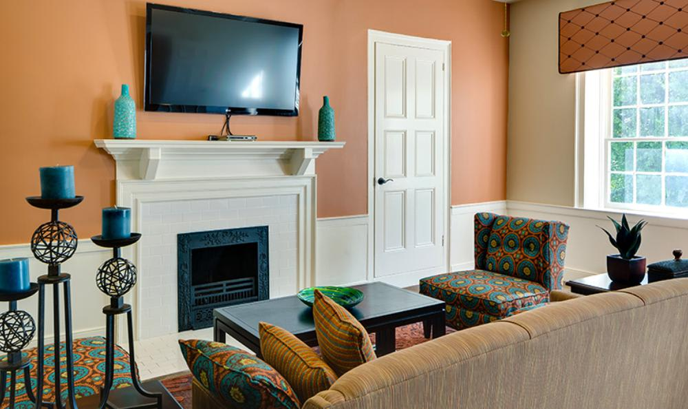 Television Room at Mallard Crossing Apartments in Louisville, KY