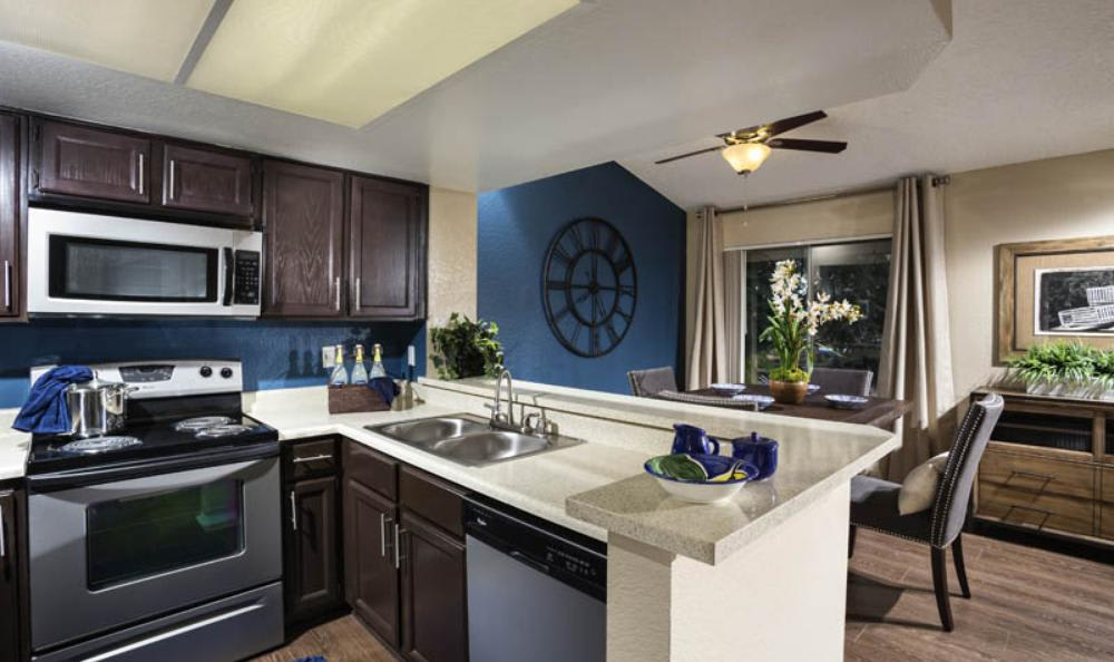 Fully Equipped Kitchen at Avana San Clemente Apartments in San Clemente, CA