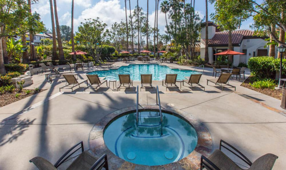 Small Jacuzzi at Avana San Clemente Apartments in San Clemente, CA
