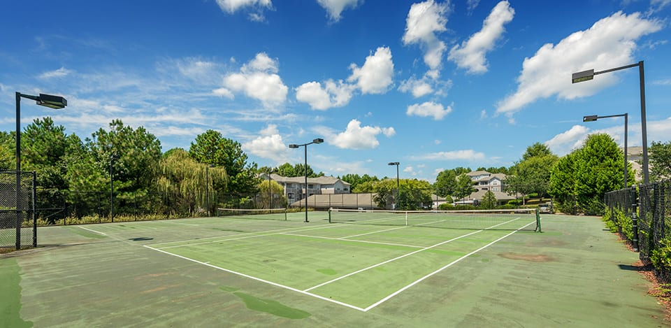 sport court at Edinborough Commons Apartments