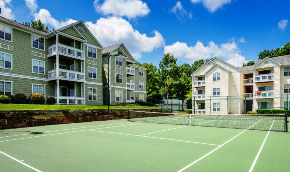 Sport Courts At The Village Apartments