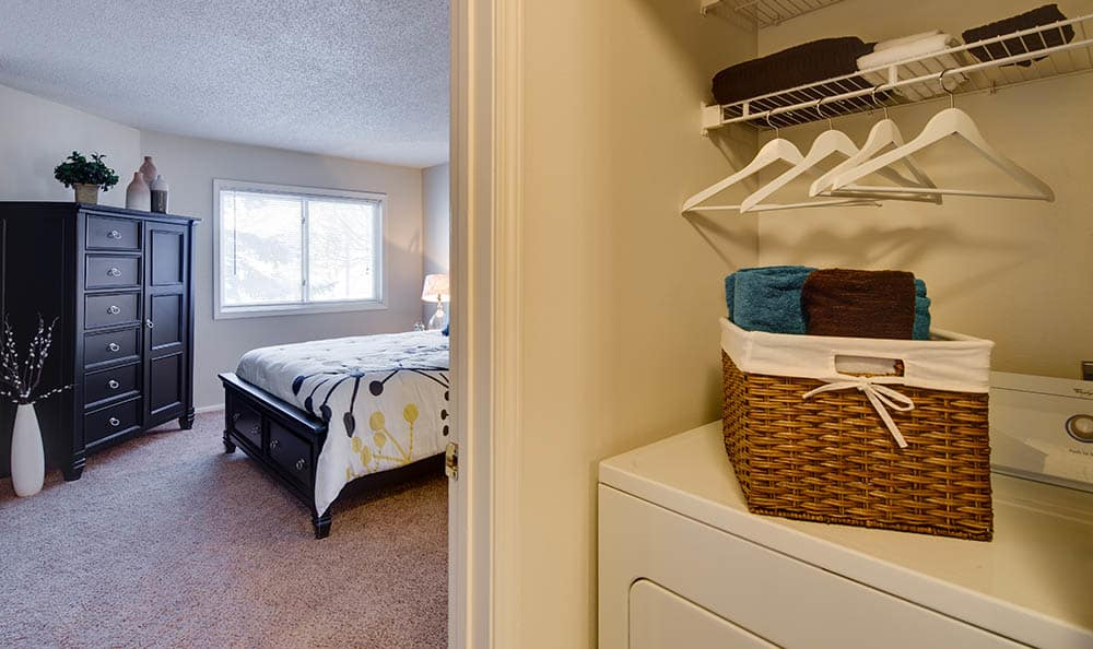 Laundry room at Avana on Seven Apartments