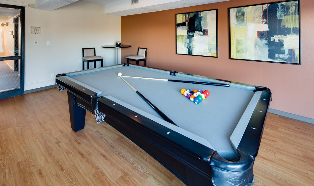 Billiards at Avana on Seven Apartments in St Louis Park, MN