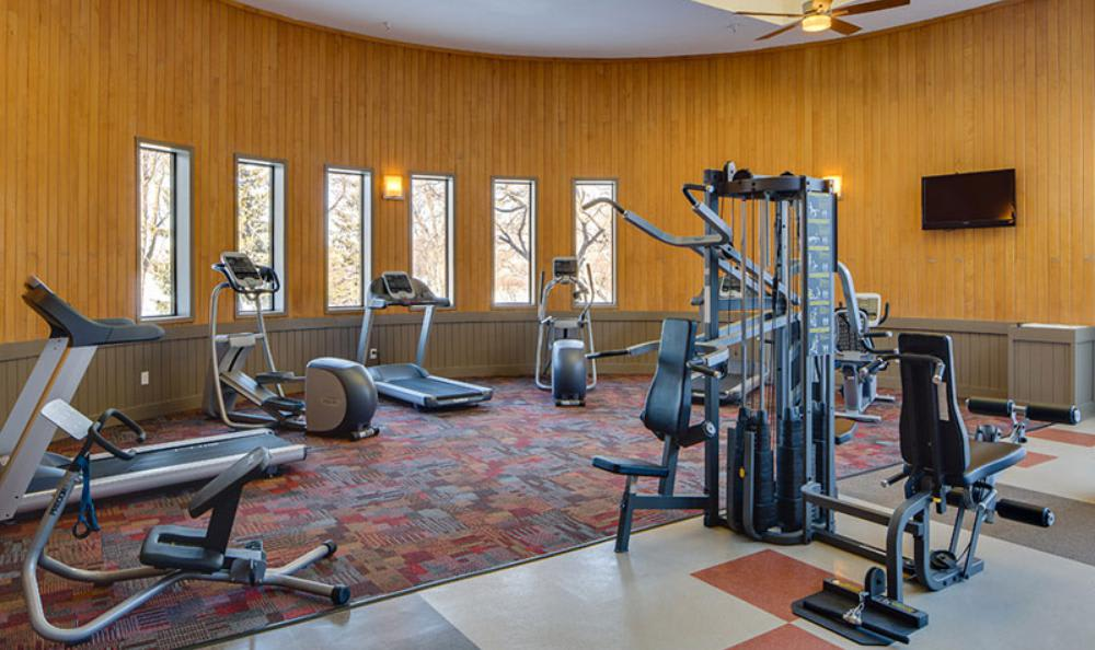 Fitness Facility at Avana on Seven Apartments in St Louis Park, MN