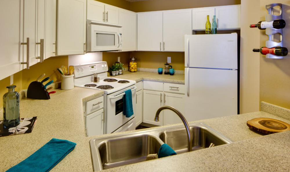 Kitchen Room at Avana on Seven Apartments in St Louis Park, MN