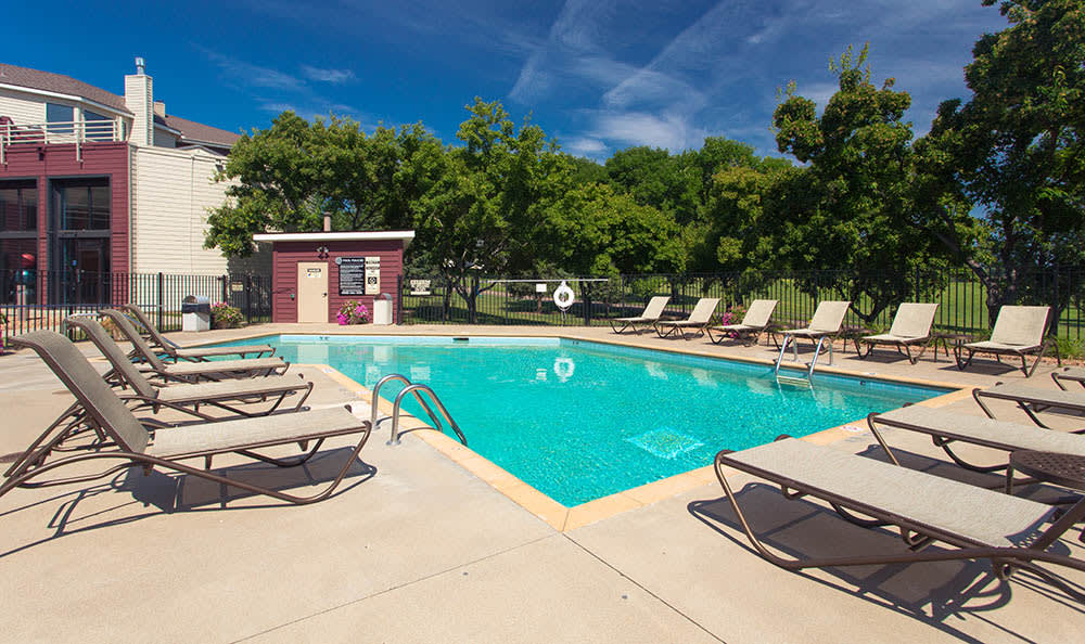 Pool at Avana on Seven Apartments
