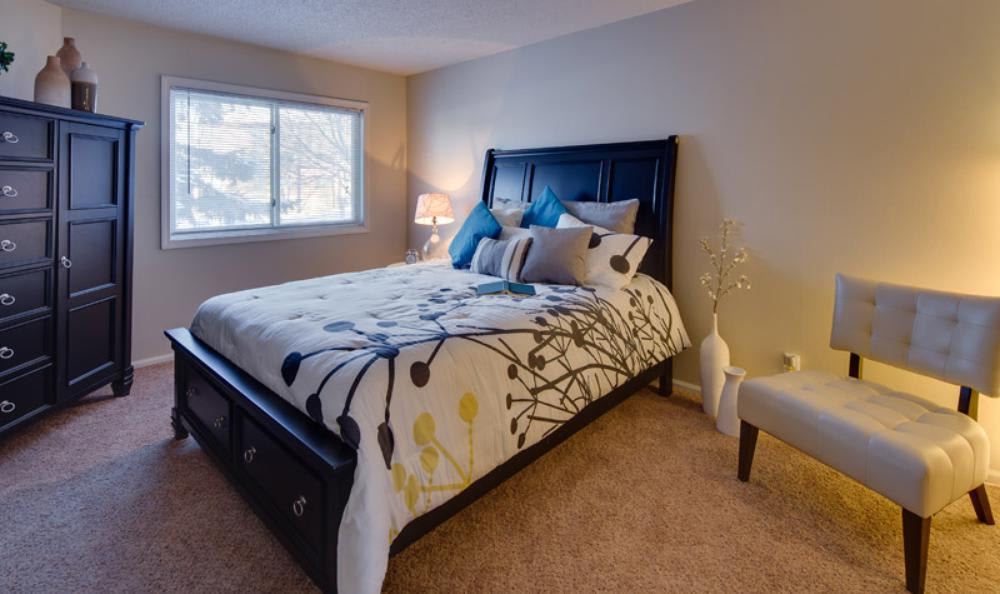 Spacious Bedroom at Avana on Seven Apartments in St Louis Park, MN