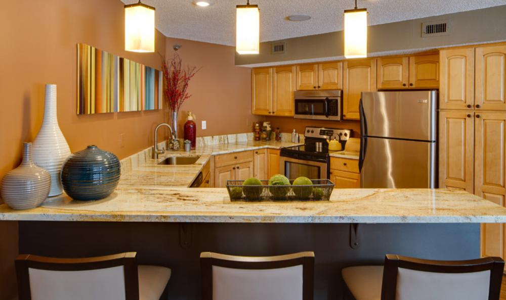 Spacious Kitchen Room at Avana on Seven Apartments in St Louis Park, MN