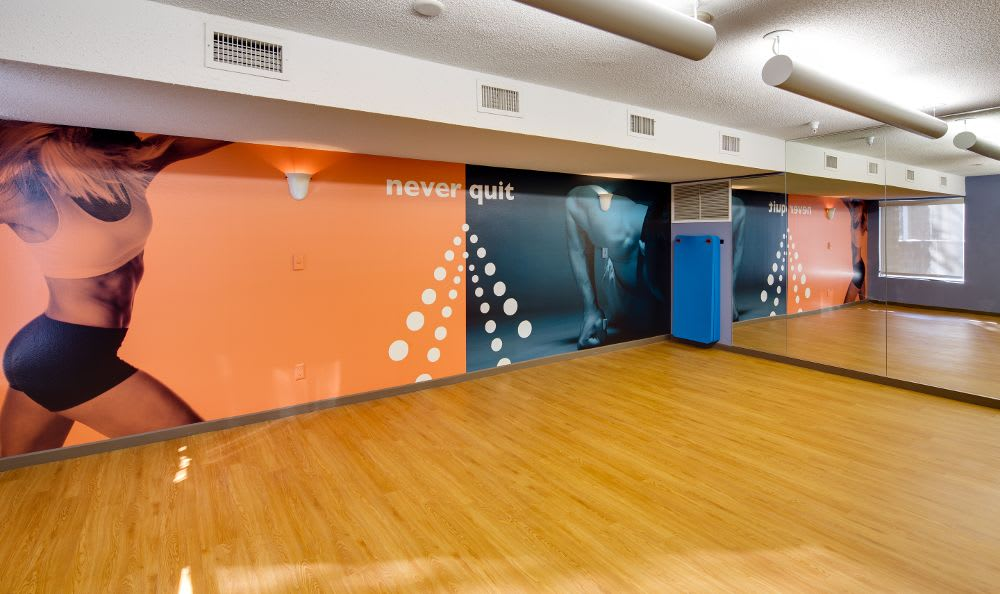 Yoga Room at Avana on Seven Apartments in St Louis Park, MN