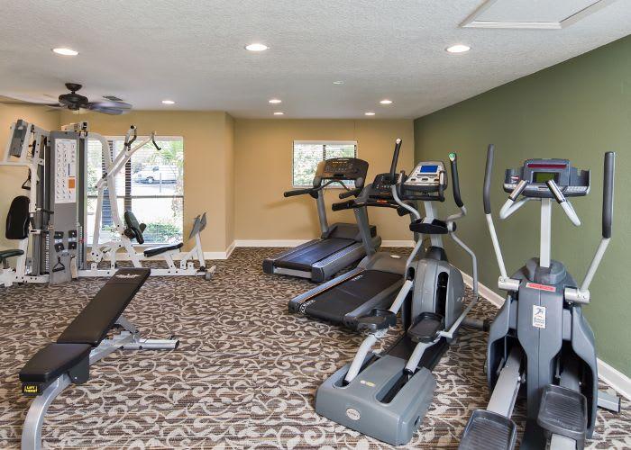 Fitness center at Arbors at Orange Park